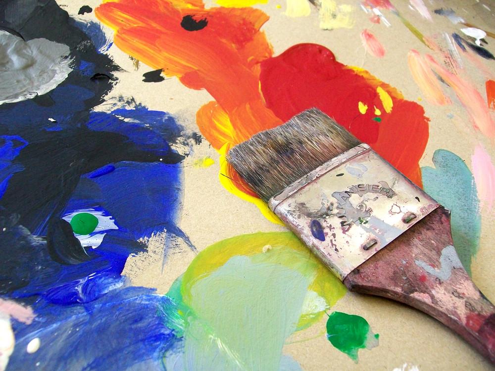 Bunt malt das Leben