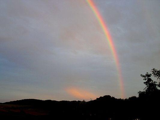 bunt wie ein Regenbogen
