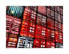 Bunte Containerwelt