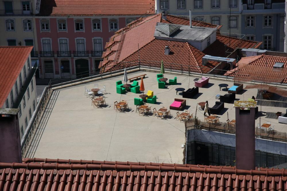 Bunte Dach-Lunch in Lissabon 2008