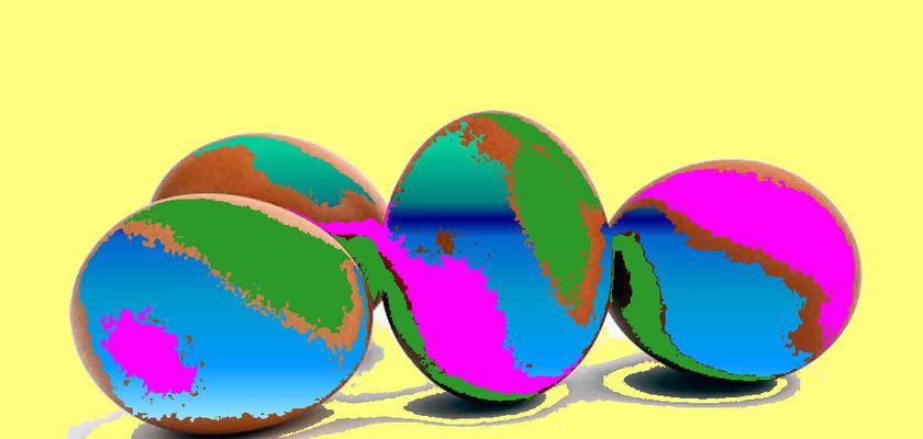 Bunte Ostern
