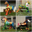 ..bunte Pferde..