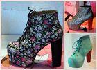 ..bunte Schuhe..