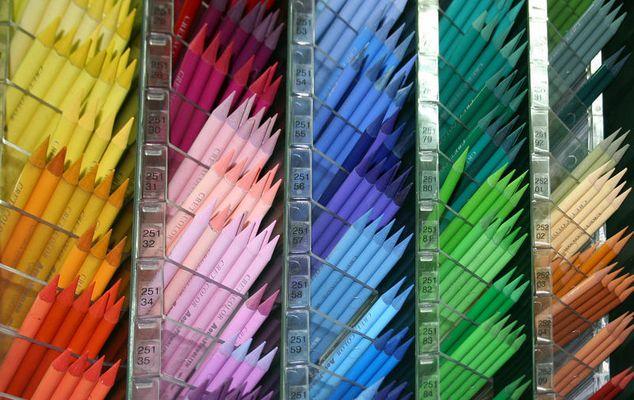 Bunte Stifte