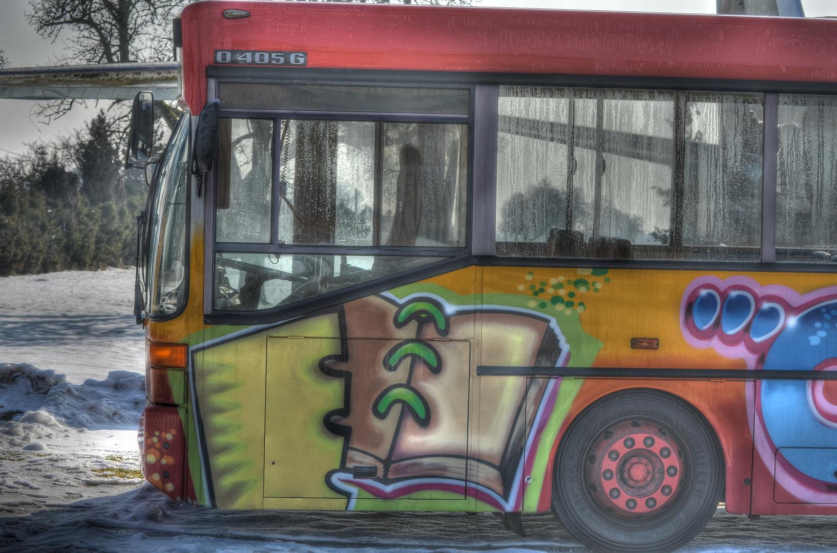 bunter Bus