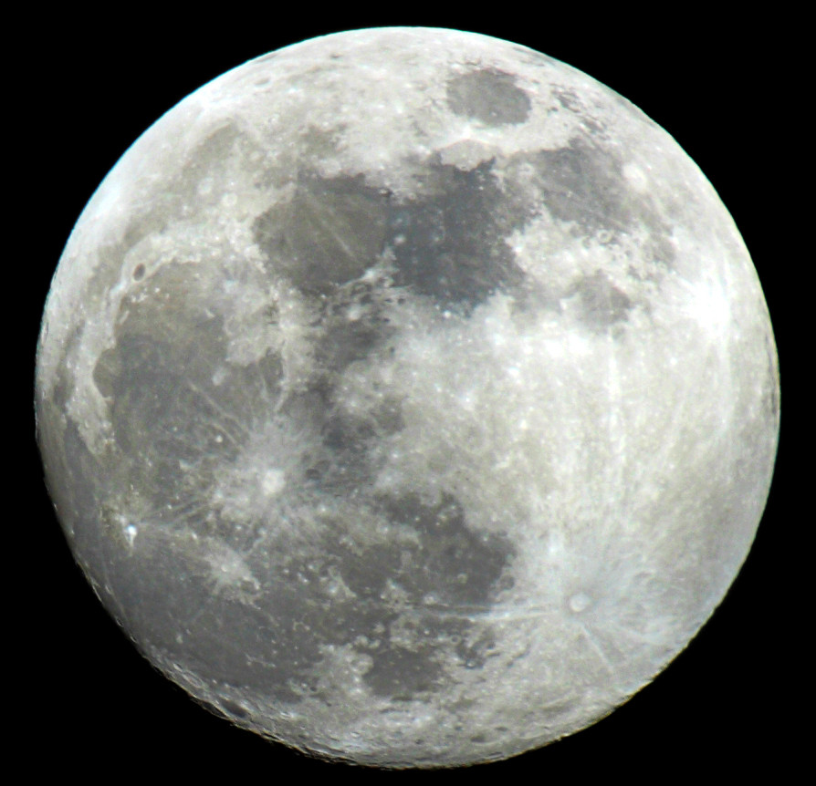 Bunter Mond ?