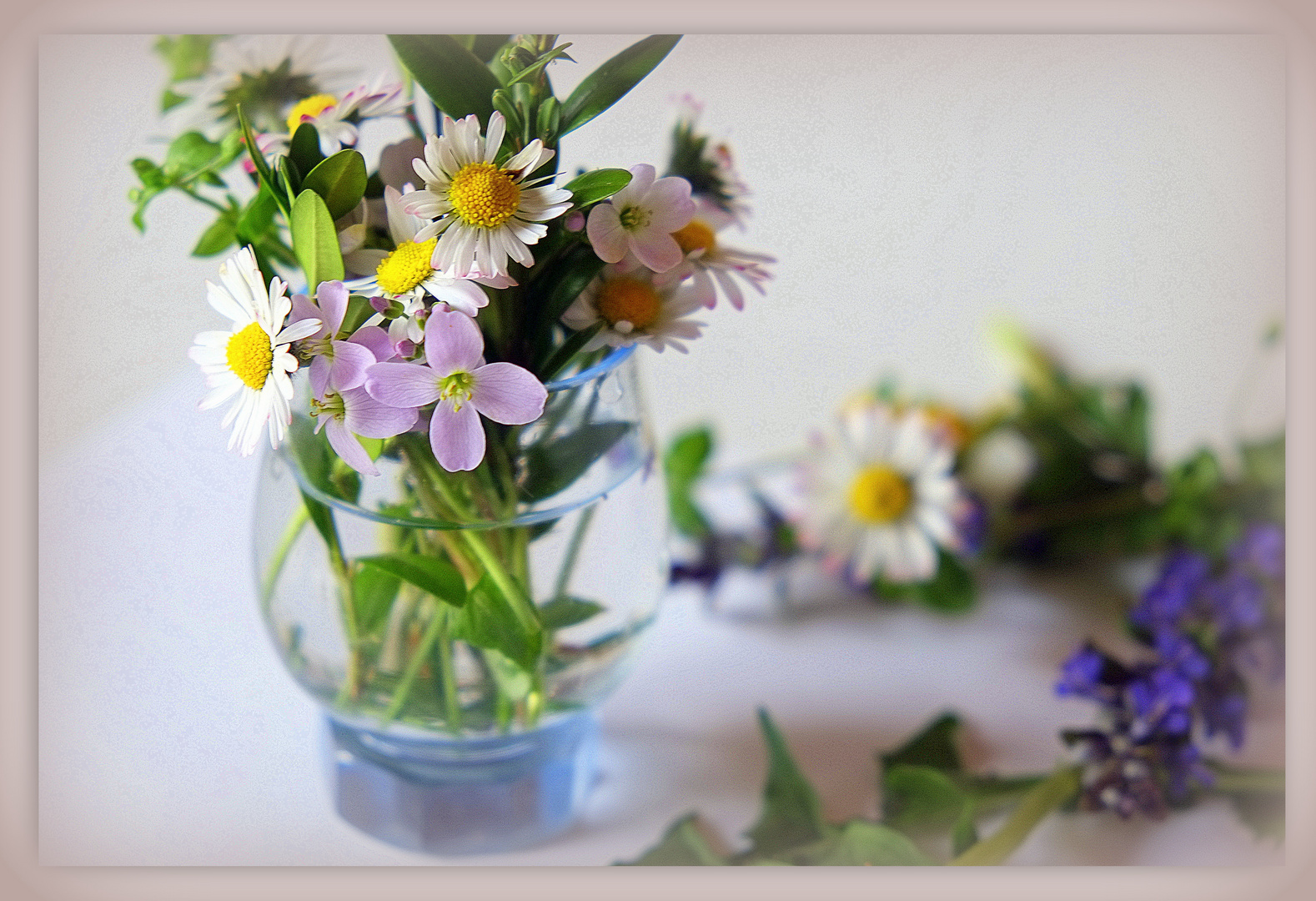 buntes Frühlingssträußchen