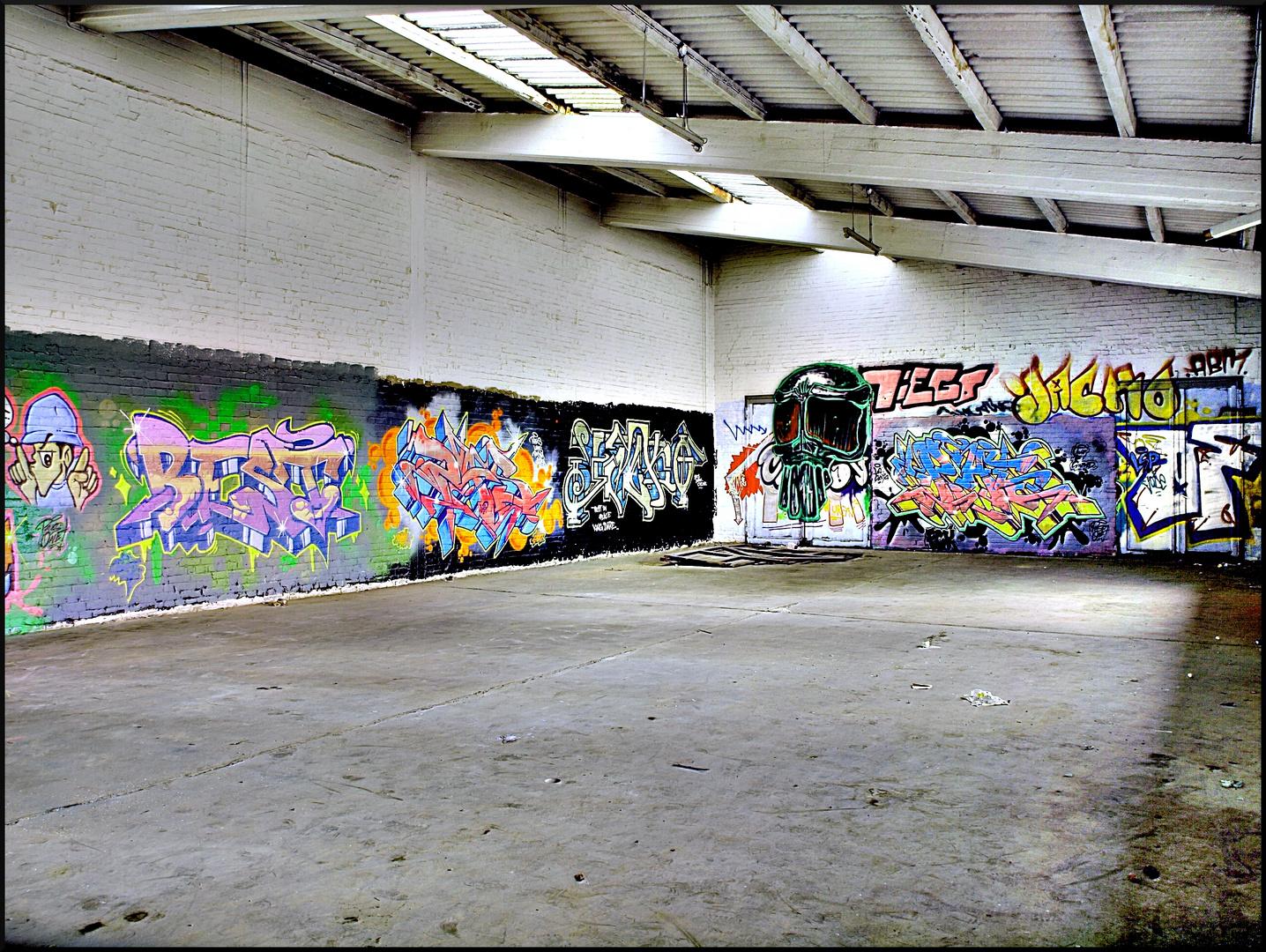 buntes Graffiti....