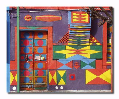 Burano - buntes Haus