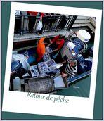 Burano retour de pêche .