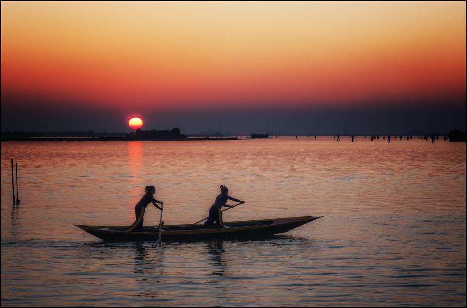 Burano sunset