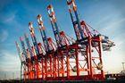 Burchardkai Containerkräne, Hamburg
