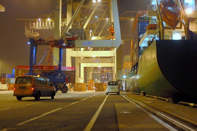 Burchardkai Containerport