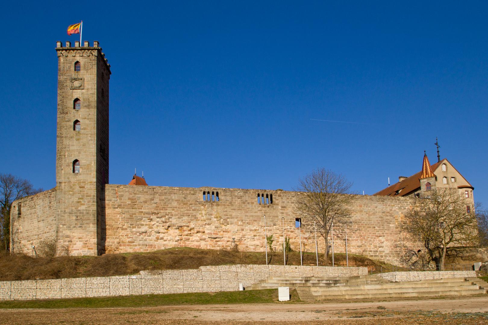 Burg Abenberg in der Abendsonne (5)