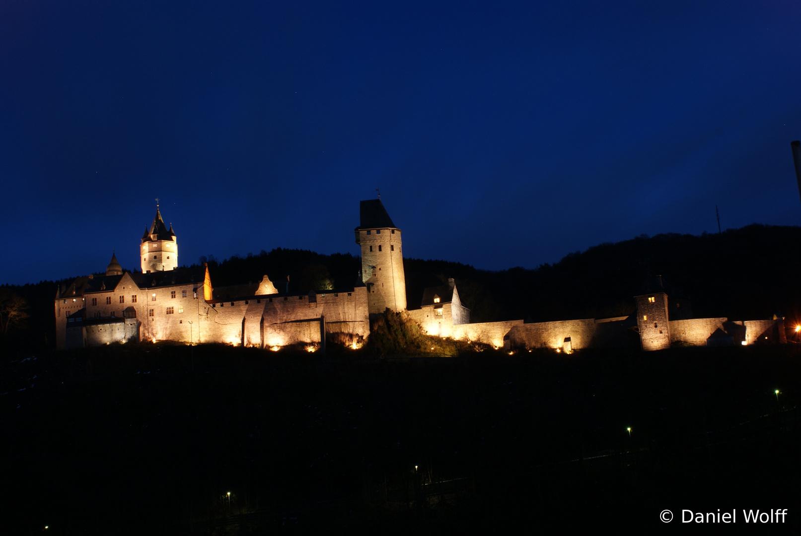Burg Altena bei Nacht