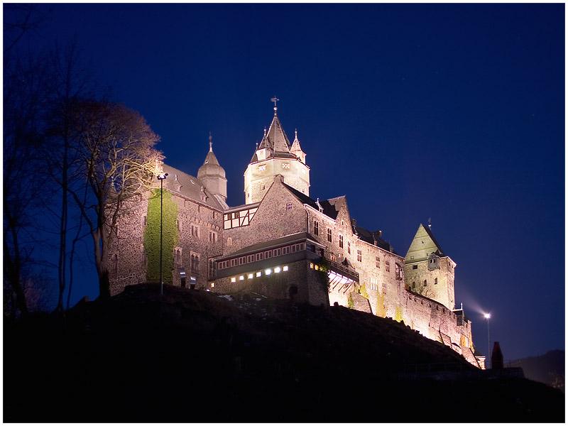 Burg Altena - blau