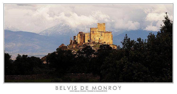 Burg Belvis de Monroy (Extremadura, Spanien)