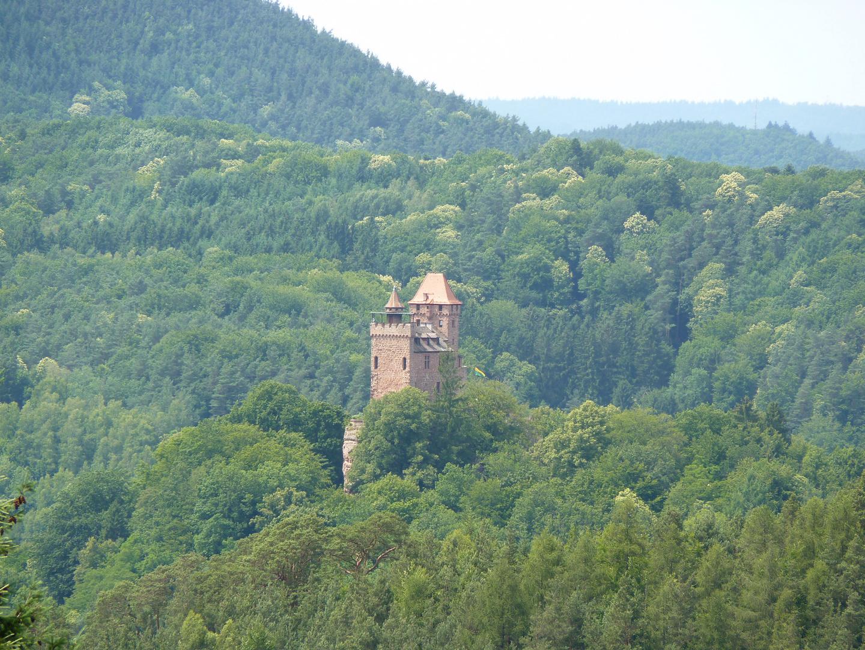 Burg Berwartstein im Pfälzerwald