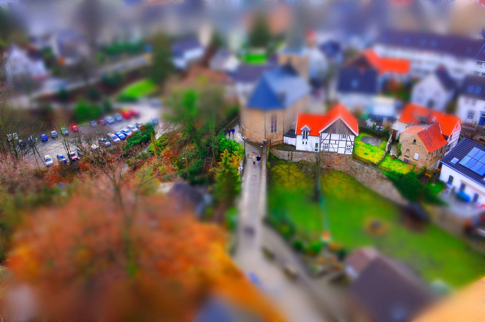 Burg-Blick