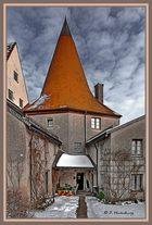 Burg Burhausen Teilansicht 1