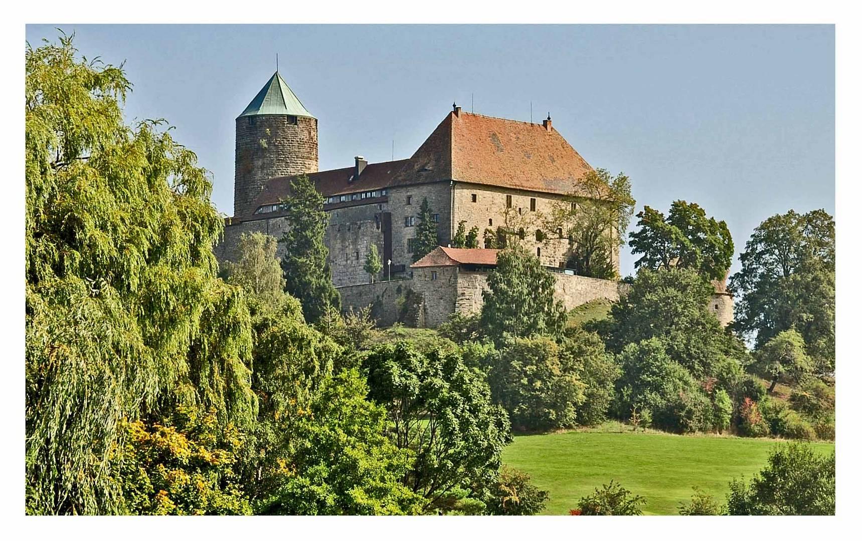 Burg Colmberg im oberen Altmühltal 511 m ü.NN.