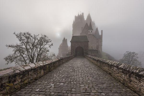 *Burg Eltz im Winternebel*