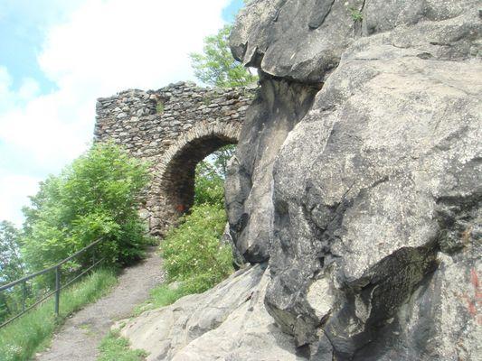 Burg Engelberg in der Tschechei
