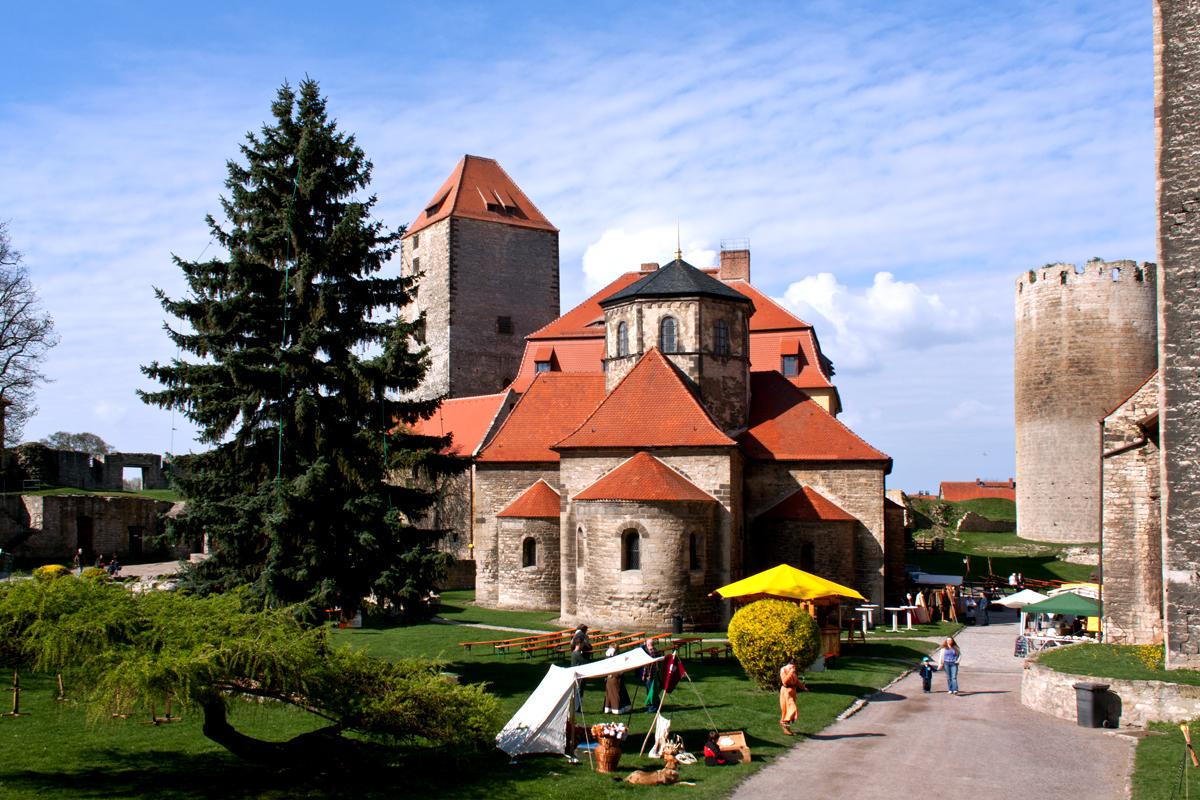 Burg erwacht in Querfurt
