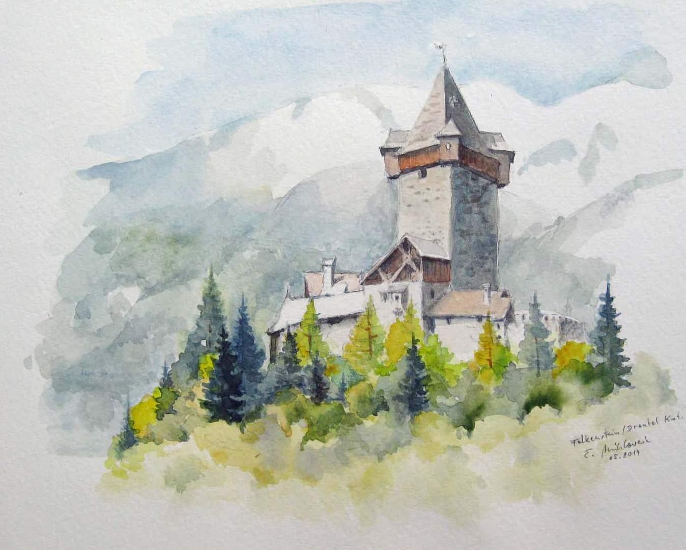 Burg Falkenstein Mölltal Kärnten Austria