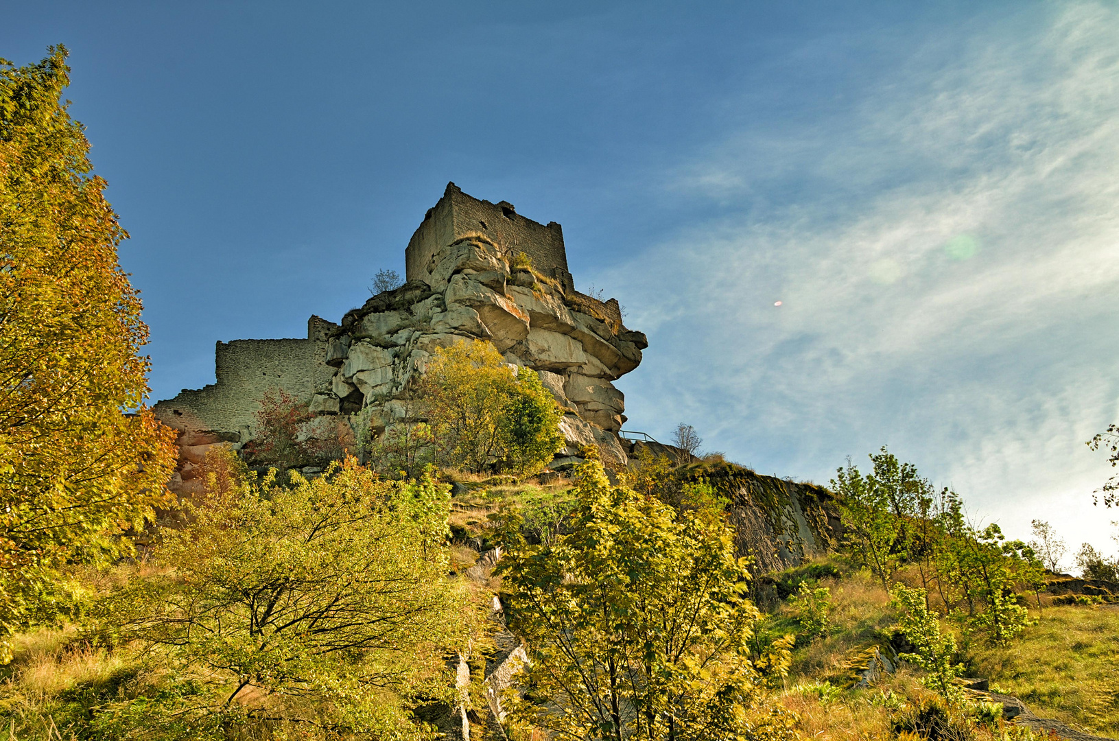 Burg Flossenbürg.