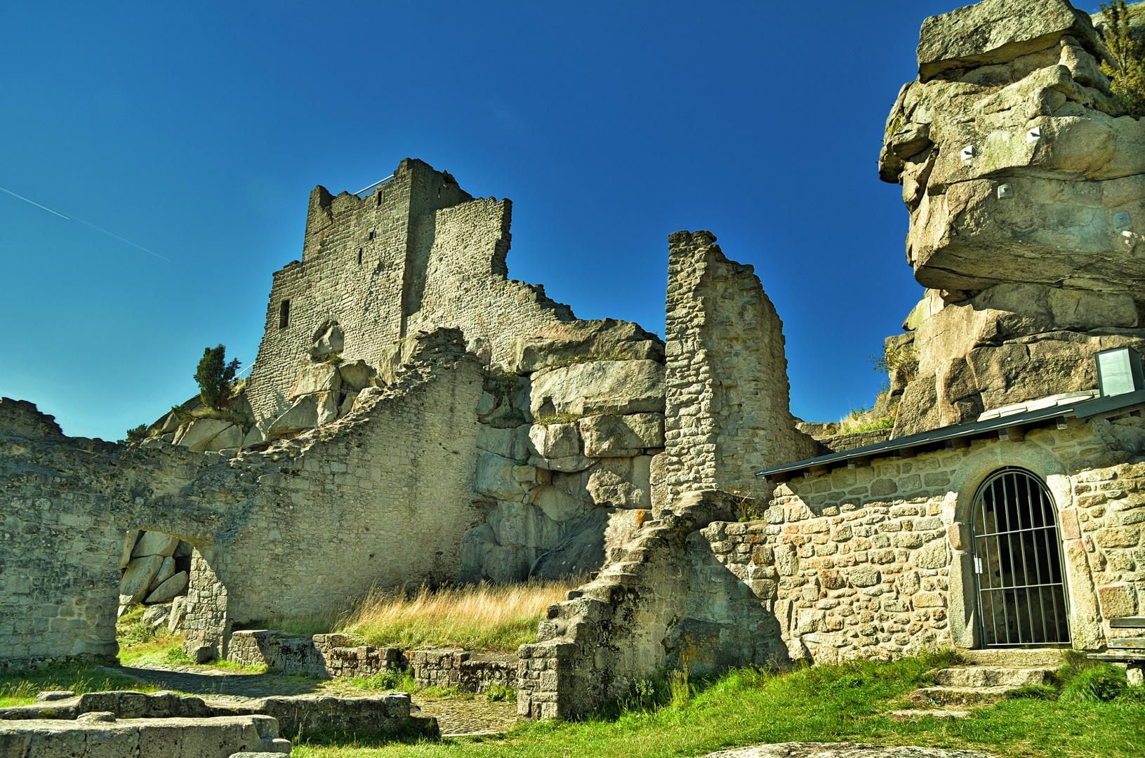 Burg Flossenbürg das zweite