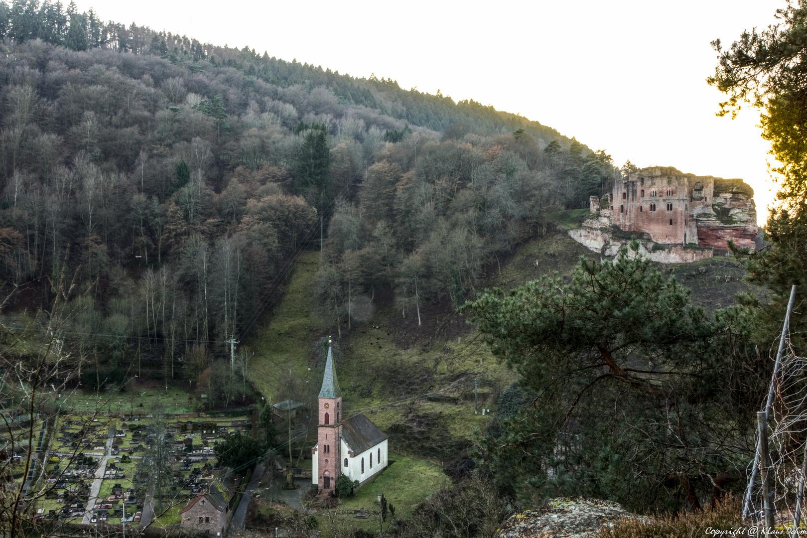 Burg Frankenstein - Pfalz #2