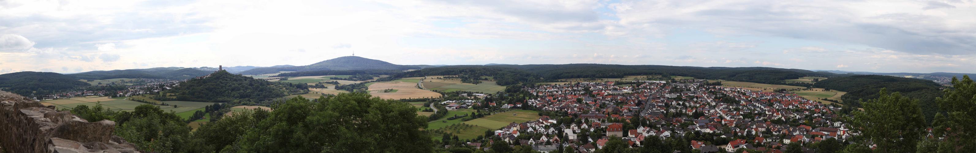 Burg Gleiberg Panorama