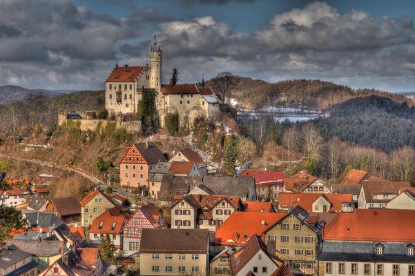 Burg Gößweinstein Impressionen (1) HDR