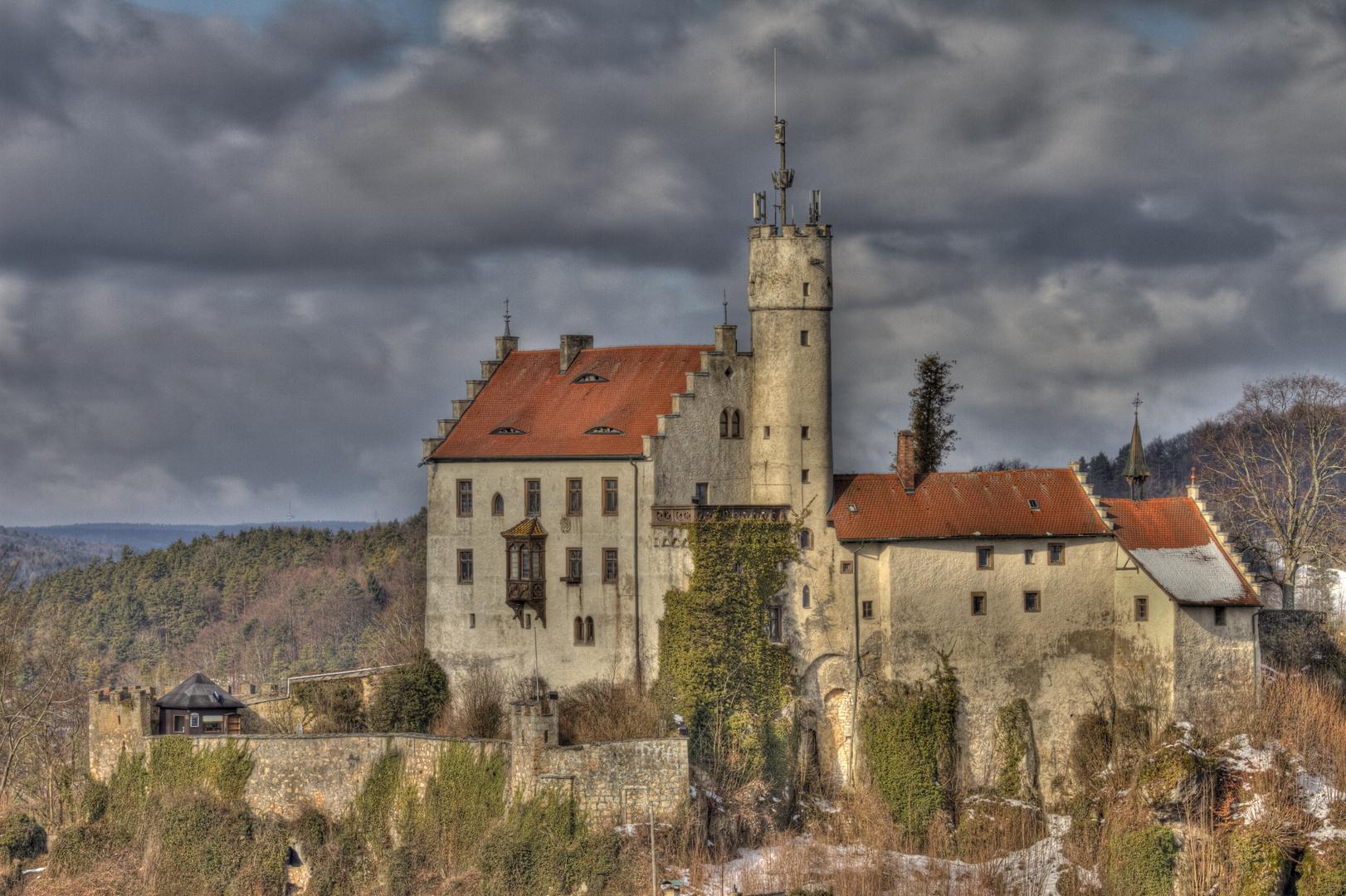 Burg Gößweinstein Impressionen (6) HDR