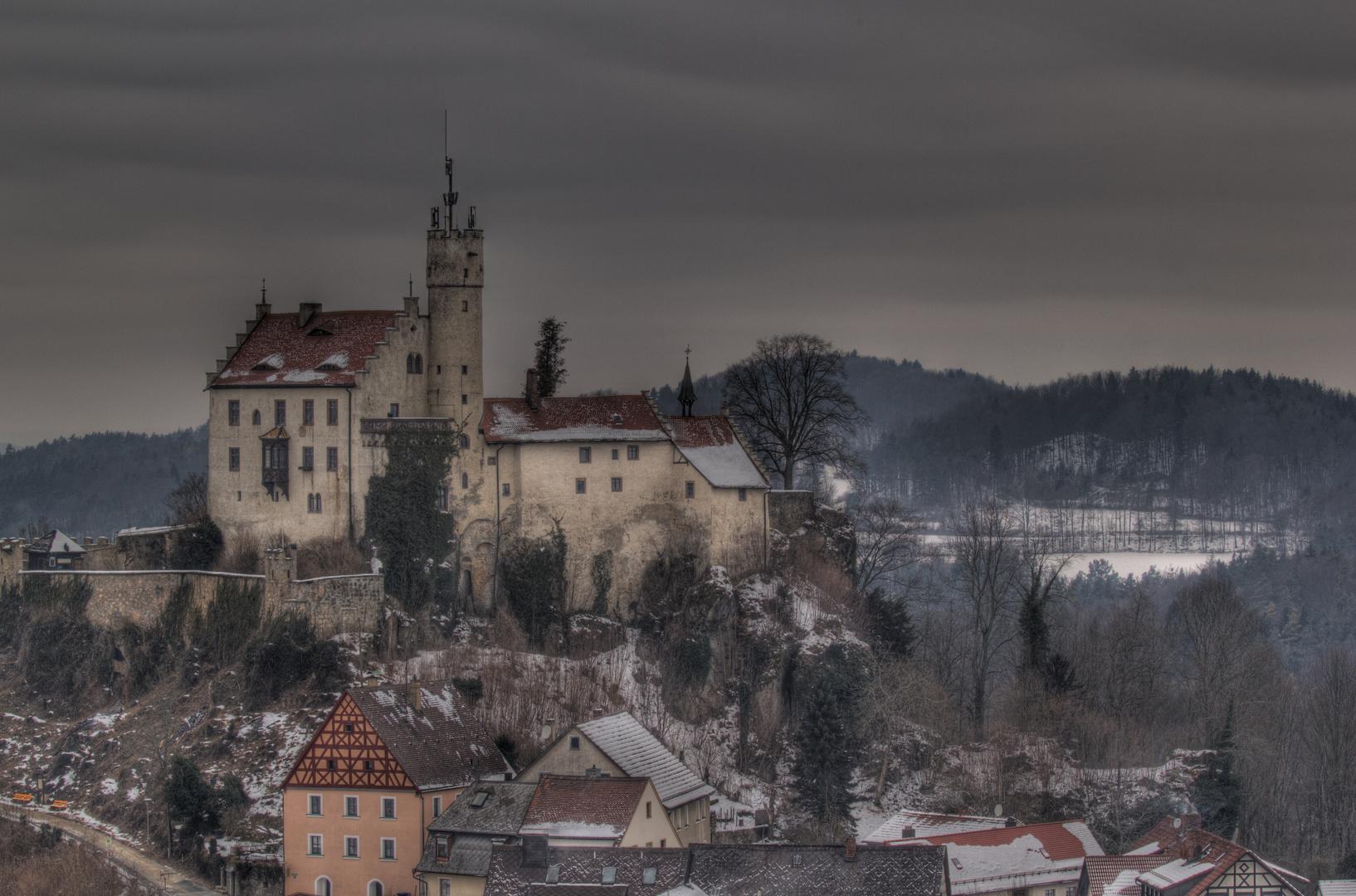 Burg Gößweinstein Winterimpressionen 2012 (1) HDR