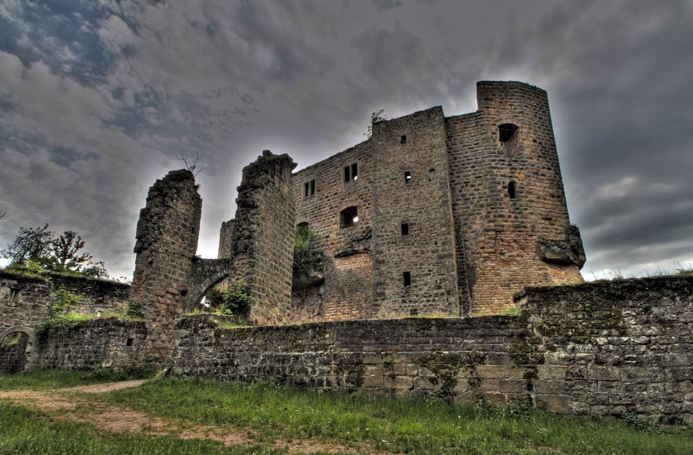 Burg Gräfenstein -mystisch- HDR Aufnahme