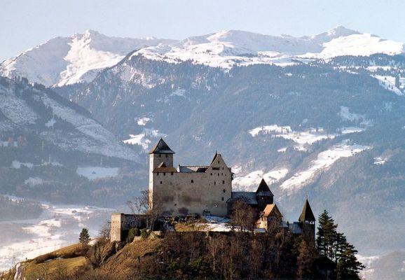 Burg Gutenberg in Liechtenstein