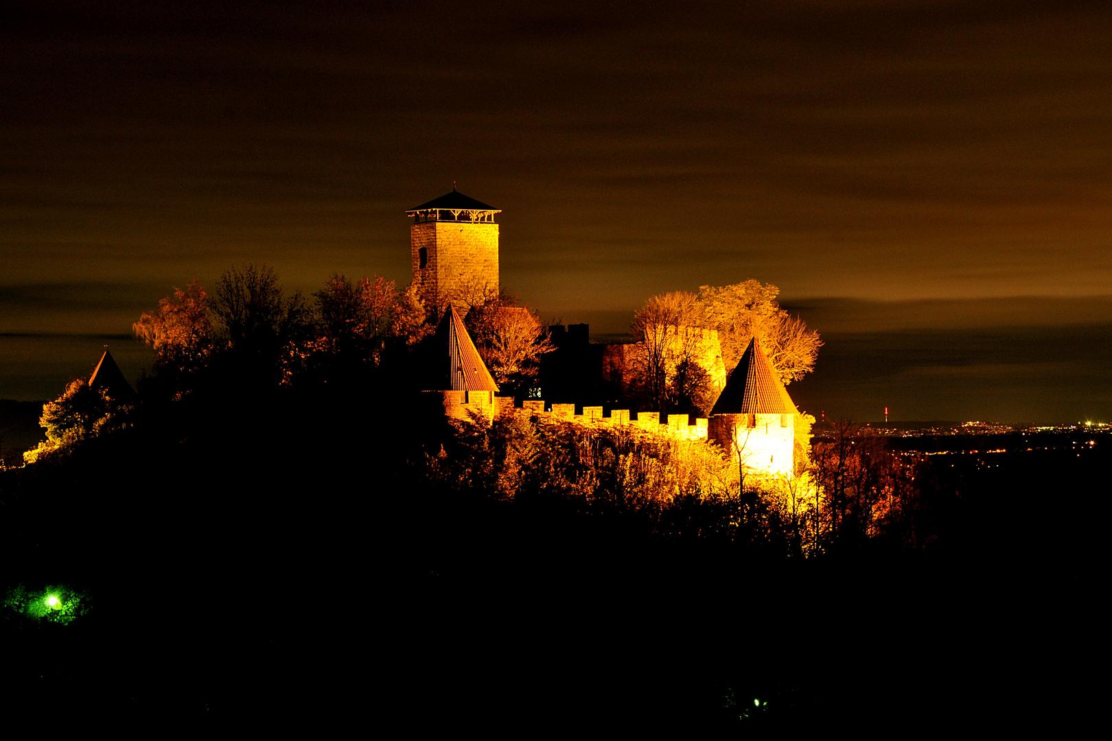Burg Hohenbeilstein Blick aus dem Norden