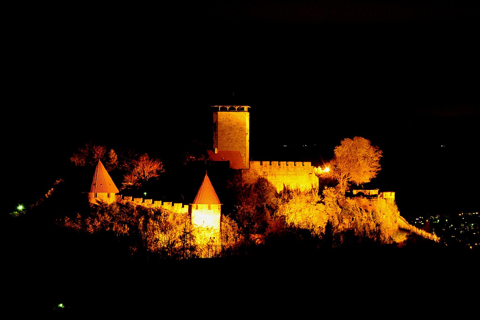 Burg Hohenbeilstein Blick aus dem Nordwesten