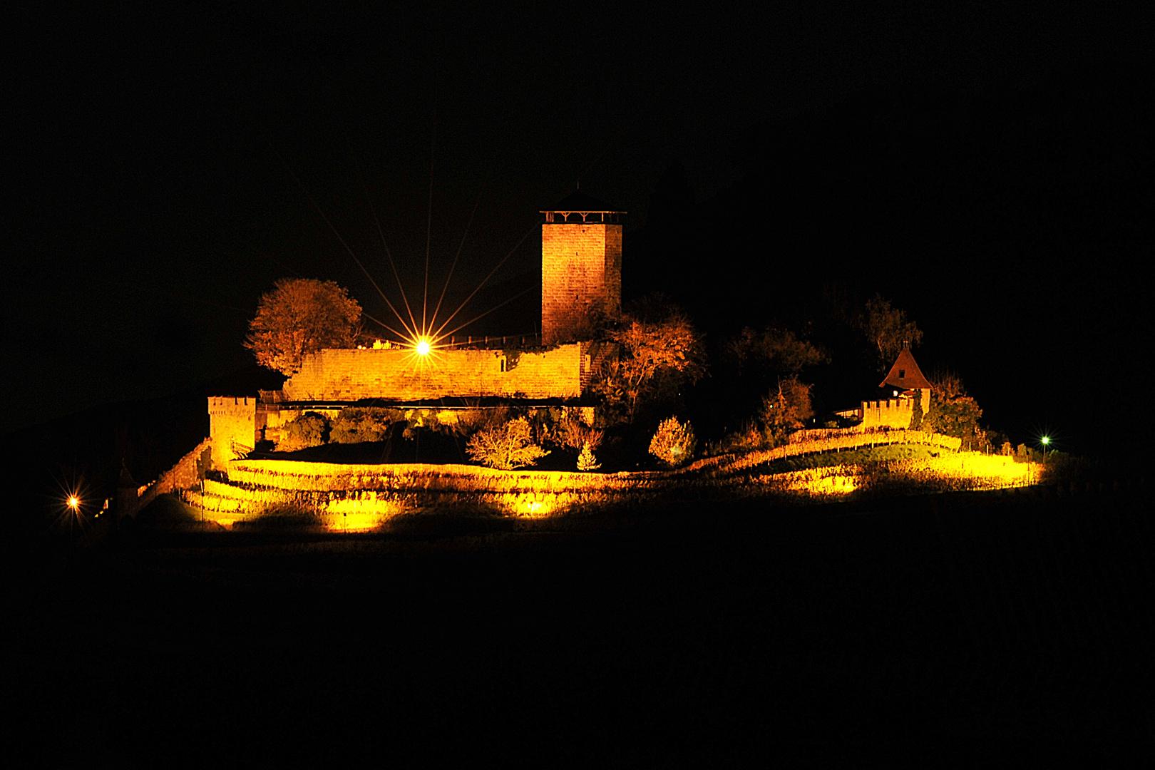 Burg Hohenbeilstein Fernblick aus dem Süden