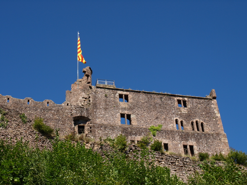 Burg Hohengeroldseck bei Lahr