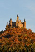 Burg Hohenzollern Blick vom Westen