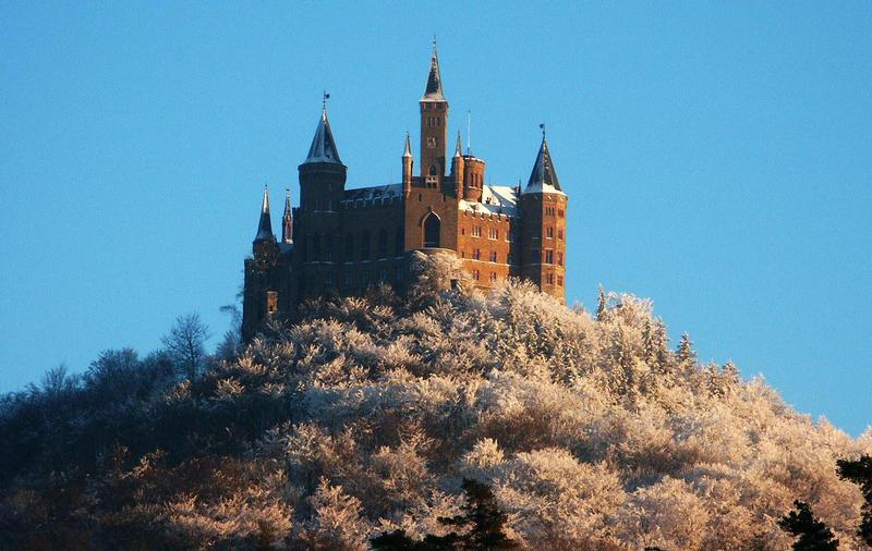 Burg Hohenzollern im Winter