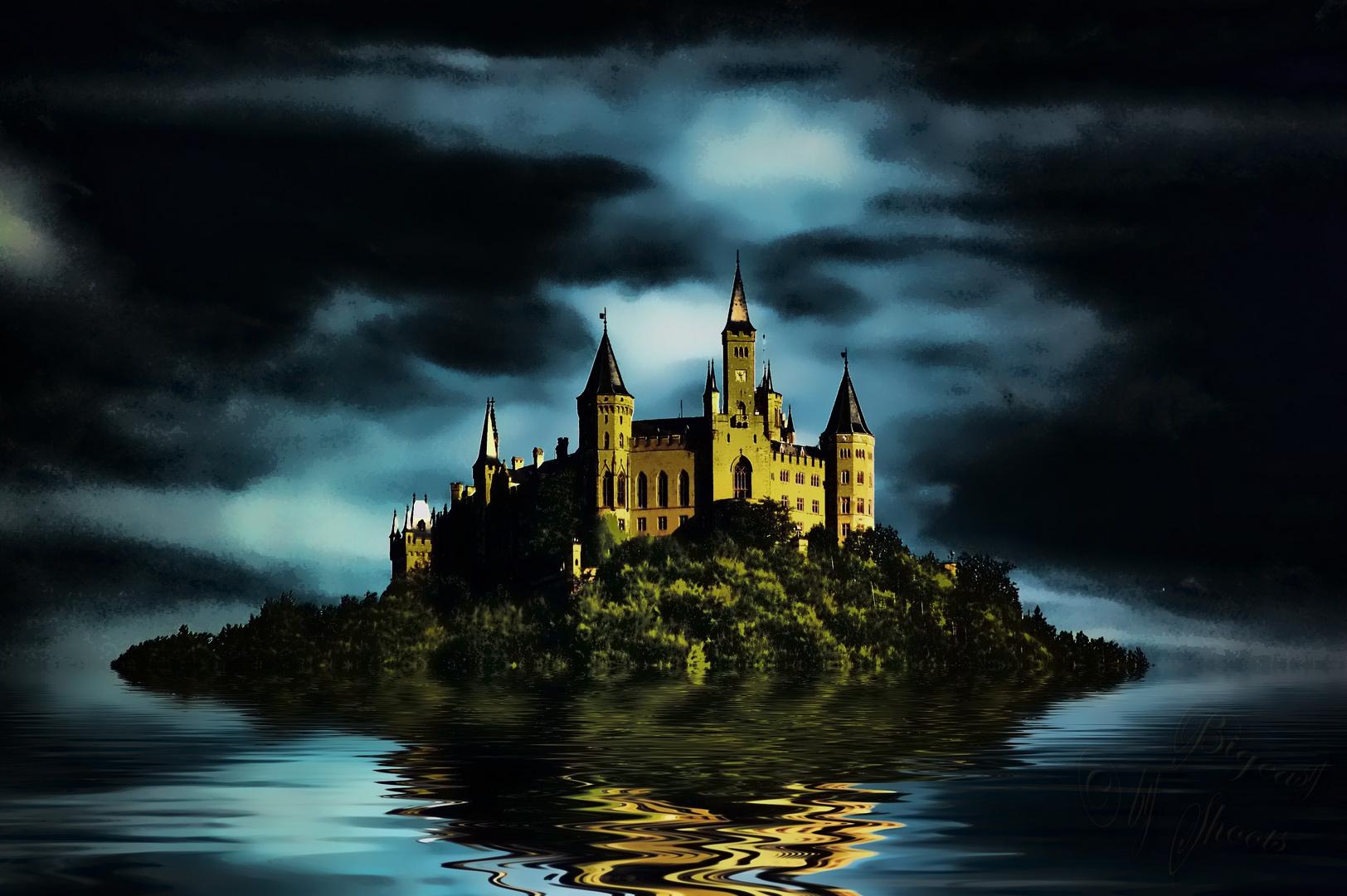 Burg Hohenzollern mystisch