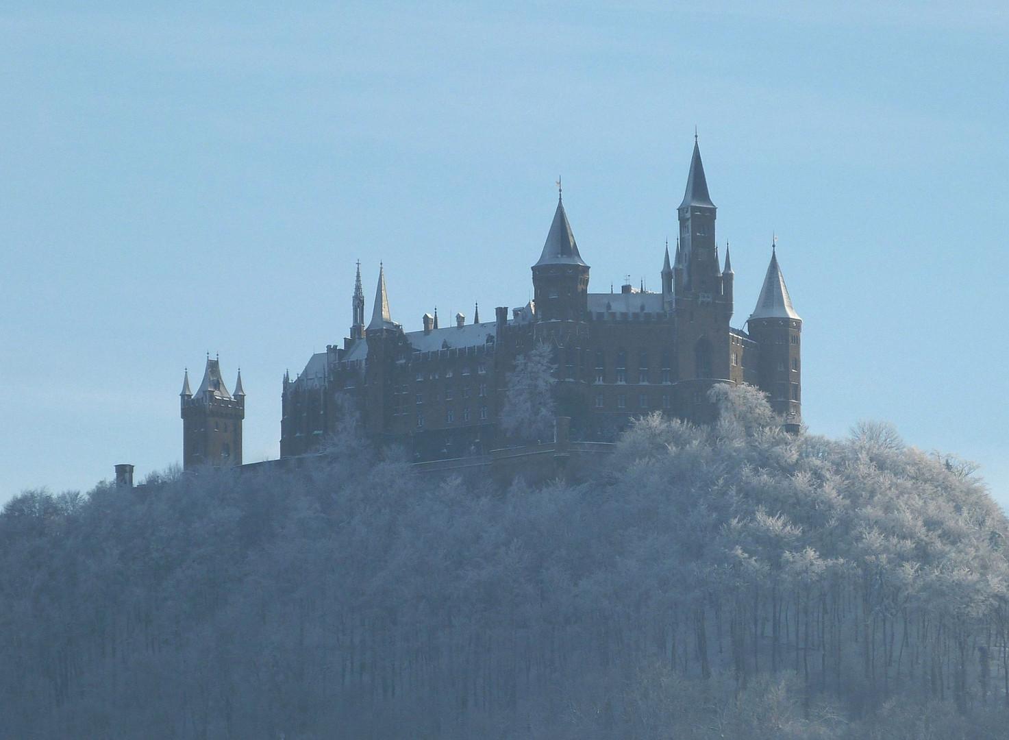 Burg Hohenzollern - Nordseite