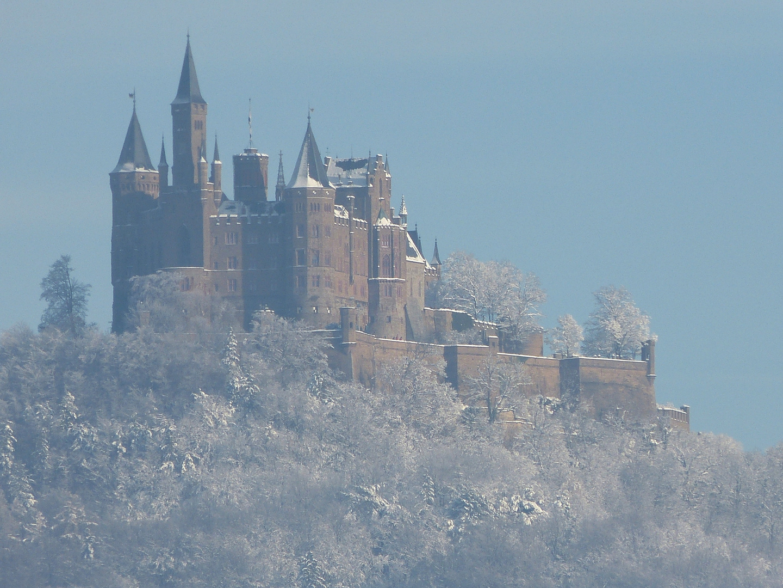 Burg Hohenzollern - Südseite