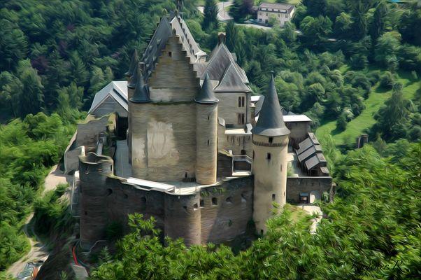 Burg im Grünen