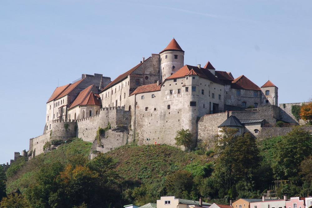 Burg in Burghausen/Bayern