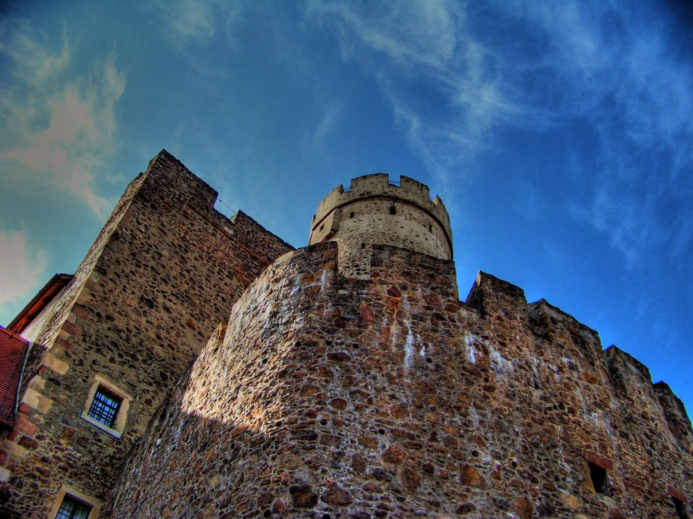Burg in HDR